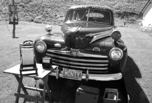 Monty (above) is a 1947 Ford sedan that has been restored by the VSP to show what the first Vermont State Police cruisers looked like. It can often be seen on display at events such as the Vermont History Expo in the interest of promoting both public safety and an awareness of the VSP Archives.page.