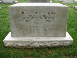 Edson's tombstone