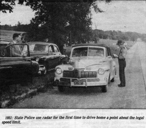 VSP Troopers with an early radar system